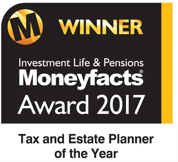 Moneyfacts award 2017 - Winner